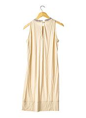 Robe mi-longue beige MOSCHINO pour femme seconde vue