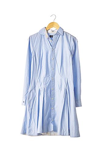Robe mi-longue bleu RALPH LAUREN pour femme