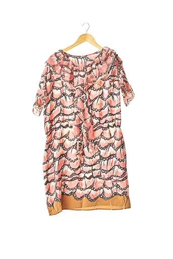 Robe mi-longue rose TSUMORI CHISATO pour femme