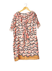 Robe mi-longue rose TSUMORI CHISATO pour femme seconde vue