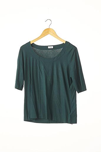 T-shirt manches longues vert A-K-R-I-S pour femme
