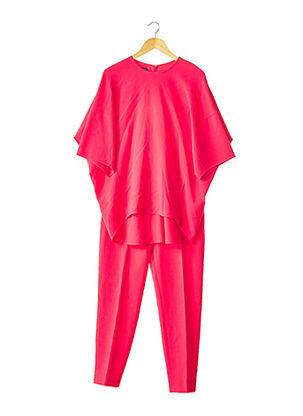 Top/pantalon rouge ESCADA pour femme