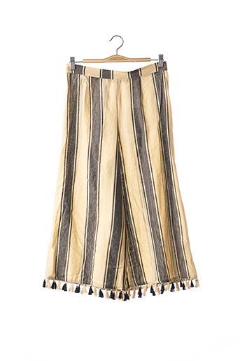 Pantalon 7/8 beige DODO BAR OR pour femme
