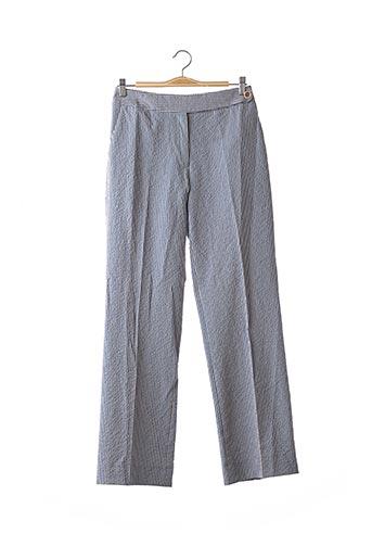 Pantalon casual bleu ARTHUR & FOX pour femme