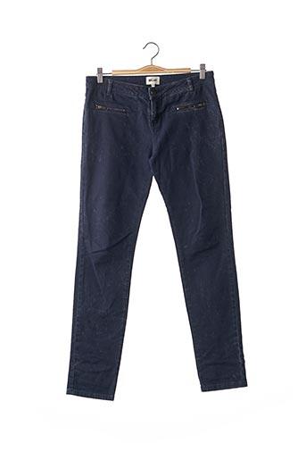 Pantalon casual bleu BEL AIR pour femme