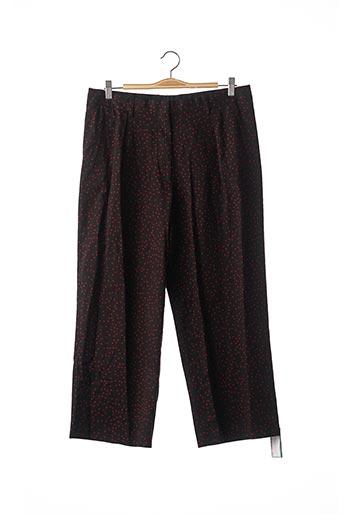 Pantalon casual noir DRIES VAN NOTEN pour femme