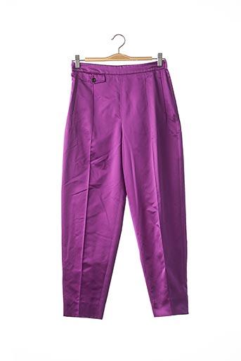 Pantalon casual violet MIU MIU pour femme