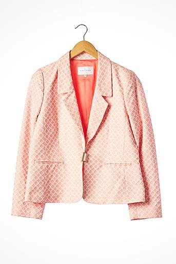Veste chic / Blazer rose ALBA CONDE pour femme