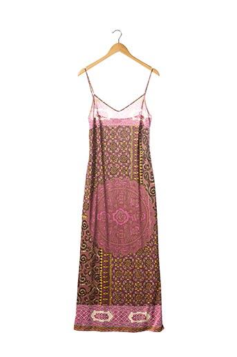 Robe longue rose ETRO  pour femme