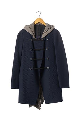 Veste casual bleu MARITHE & FRANCOIS GIRBAUD pour femme