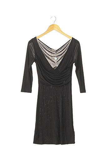 Robe courte noir GALLIANO pour femme