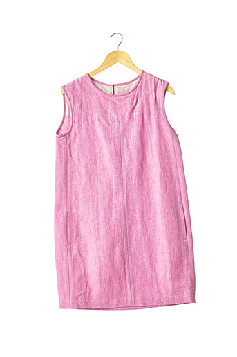 Robe mi-longue rose MAXMARA pour femme