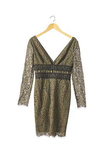 Robe mi-longue vert DIANE VON FURSTENBERG pour femme