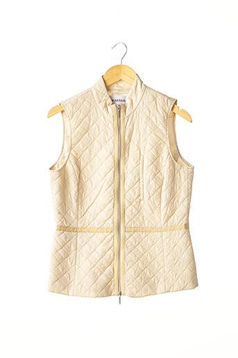Veste casual beige APRIORI pour femme