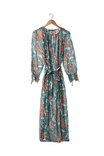 Robe longue bleu ANTIK BATIK pour femme