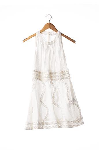 Robe mi-longue blanc ANNE FONTAINE pour femme