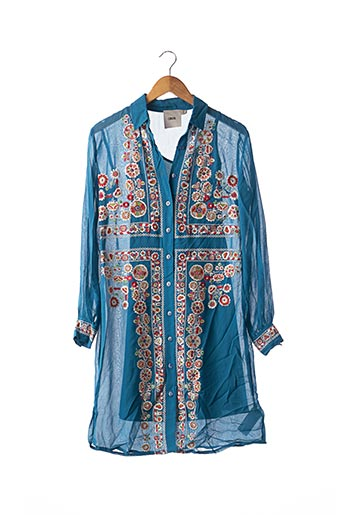 Robe mi-longue bleu ASOS pour femme