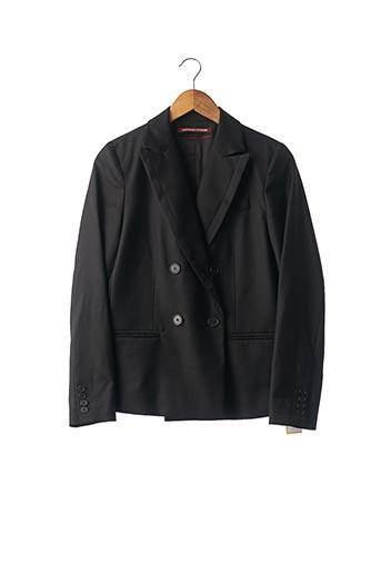 Veste chic / Blazer noir COMPTOIR DES COTONNIERS pour femme