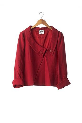 Veste chic / Blazer rouge ANGELO TARLAZZI pour femme