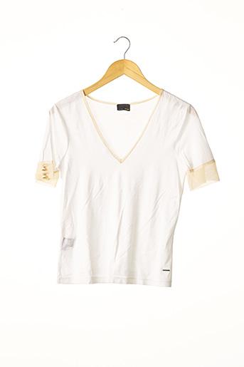 T-shirt manches courtes blanc FENDI pour femme