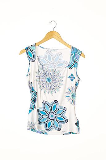 T-shirt manches courtes bleu EMILIO PUCCI pour femme