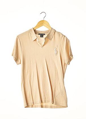 Polo manches courtes beige RALPH LAUREN pour femme