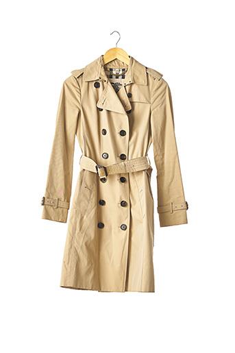 Imperméable/Trench beige BURBERRY pour femme
