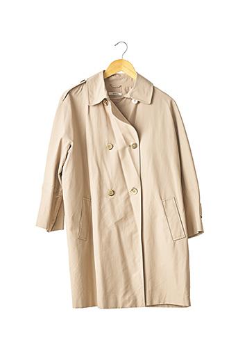 Imperméable/Trench beige DEVERNOIS pour femme