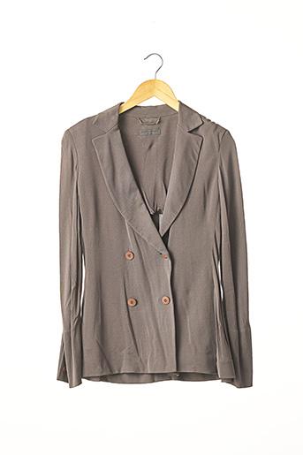 Veste chic / Blazer gris ALBERTA FERRETTI pour femme