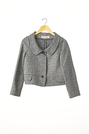Veste chic / Blazer gris MARNI pour femme
