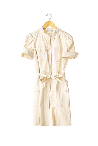 Robe mi-longue beige PAUL & JOE pour femme