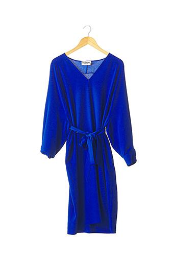 Robe mi-longue bleu ESSENTIEL pour femme