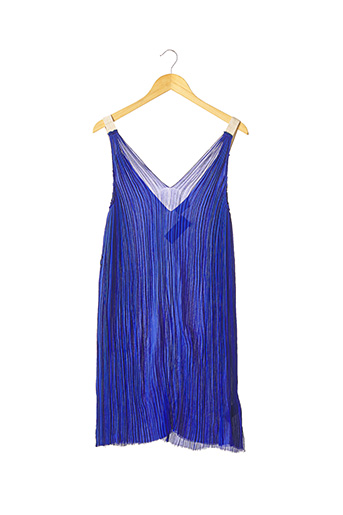Robe mi-longue bleu FORTE-FORTE pour femme