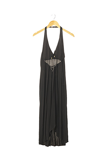 Robe mi-longue noir LISE CHARMEL pour femme
