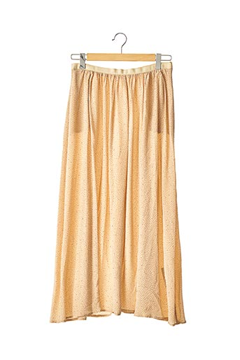 Jupe longue beige ATTIC AND BARN pour femme