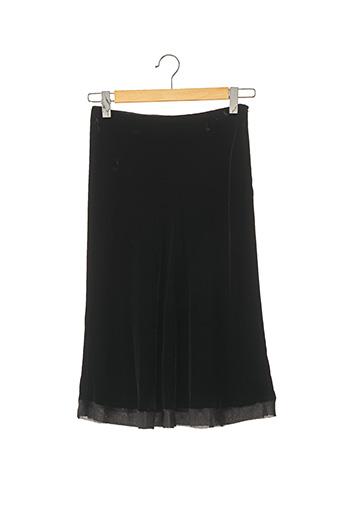 Jupe mi-longue noir ZAPA pour femme
