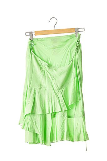 Jupe mi-longue vert DONNA KARAN pour femme