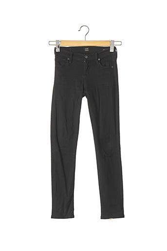 Pantalon casual noir CITIZENS OF HUMANITY pour femme