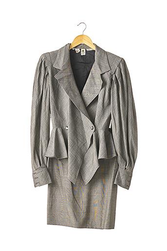 Veste/jupe gris UNGARO pour femme