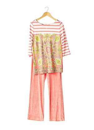 Top/pantalon rose ESCADA pour femme