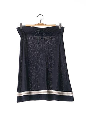 Jupe mi-longue bleu ESCADA pour femme