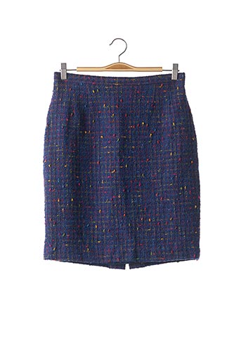 Jupe mi-longue bleu KENZO pour femme