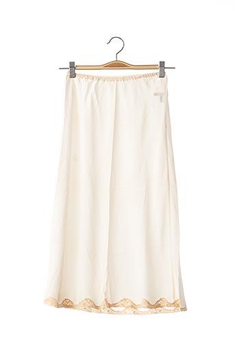 Jupon /Fond de robe beige DIOR pour femme