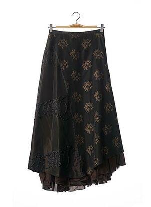 Jupe longue noir NATHALIE GARCON pour femme