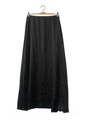 Jupe mi-longue noir DANIEL HECHTER pour femme