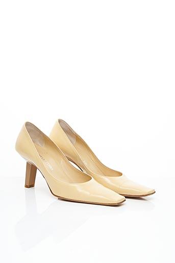 Escarpins beige SERGIO ROSSI pour femme
