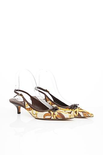 Sandales/Nu pieds marron BALLIN pour femme