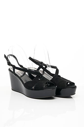 Sandales/Nu pieds noir CAREL PARIS pour femme