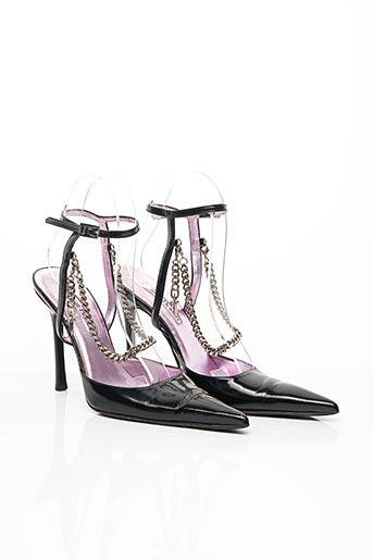 Sandales/Nu pieds noir CESARE PACIOTTI pour femme