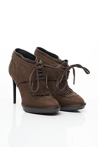 Bottines/Boots marron BURBERRY pour femme